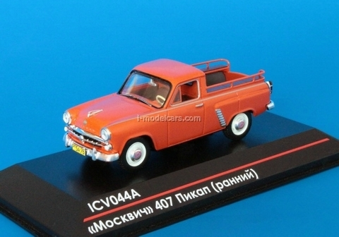 Moskvich-407 Pickup early edition 1:43 ICV044A