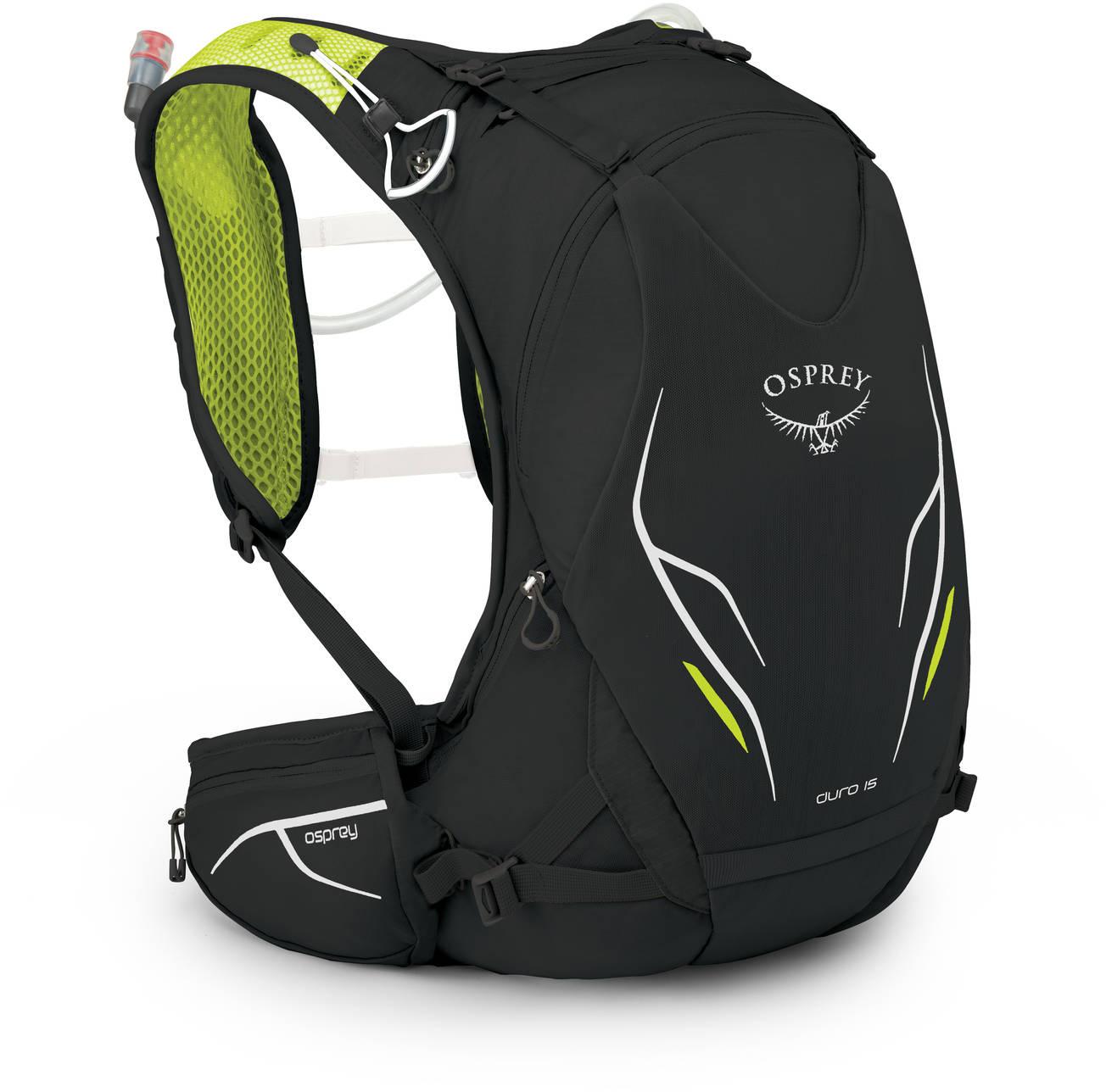 Рюкзаки для бега Рюкзак для бега Osprey Duro 15 Duro_15_S17_Side_Electric_Black_web.jpg