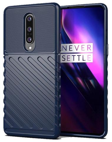 Чехол на OnePlus 8, темно-синий цвет, серии Onyx от Caseport