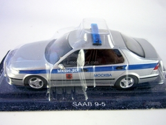 SAAB 9-5 Police Moscow Russia 1:43 DeAgostini World's Police Car #48
