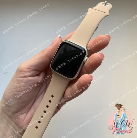 Ремешок Apple watch 42/44mm Sport Band /gold/ золотой