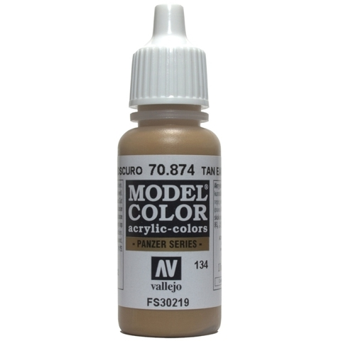 Model Color Tan Earth 17 ml.