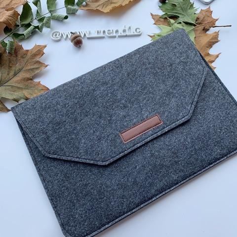 Папка конверт для MacBook Felt sleeve bag 13.3'' /black/