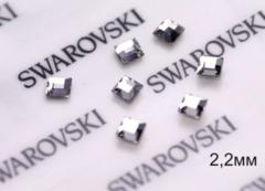 Стразы Swarovski для ногтей, Мелкие квадратные ...