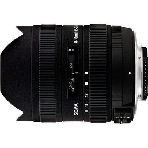 Объектив Sigma AF 8-16mm f/4.5-5.6 DC HSM Black для Canon