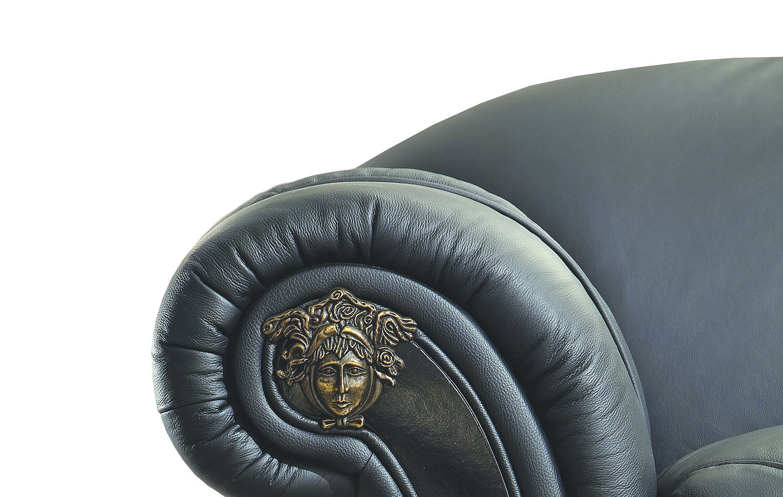 Диван ESF Versace лавсит черный