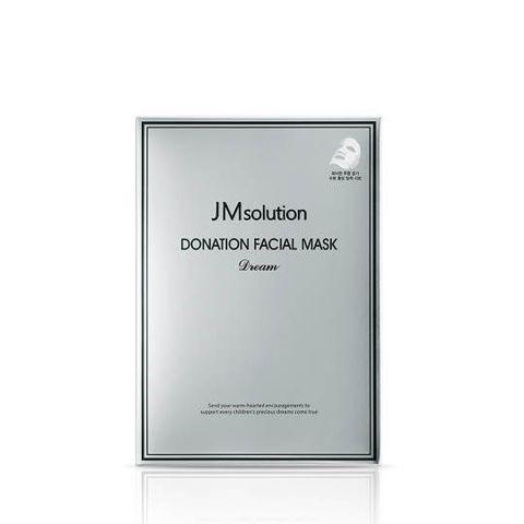 Маска JM Solution Donation Facial Mask Dream для интенсивного питания и придания сияния коже