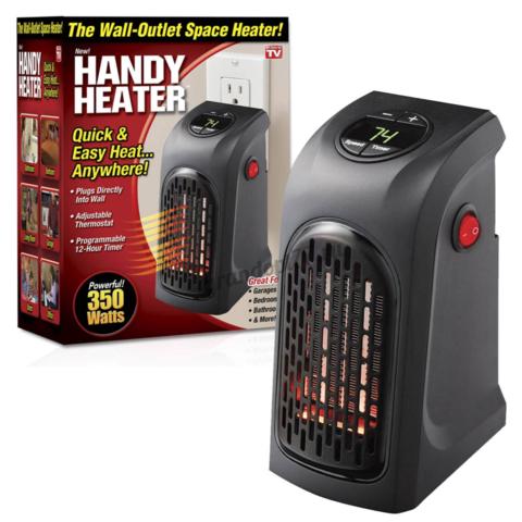 Комнатный тепловентилятор портативный обогреватель Rovus Handy Heater