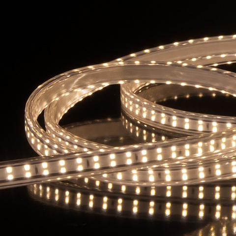 Комплект светодиодной ленты Premium белой двухрядной 10м 18 Вт/м 180 LED 2835 IP65 LS011 220V