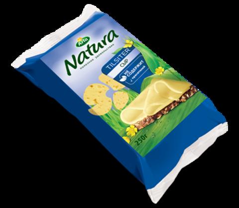Сыр Arla Natura Сливочный Тильзитер 45% 250 г