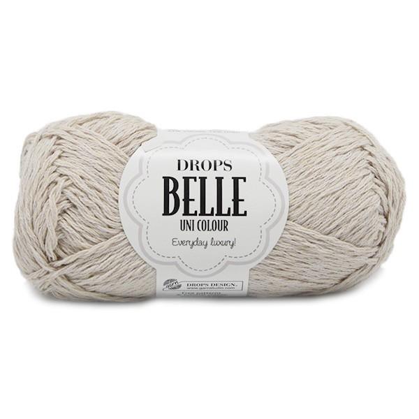 Пряжа Drops Belle 03 светло-бежевый