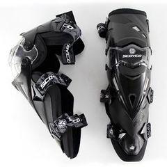 Наколенники шарнирные Scoyco К12, чёрный