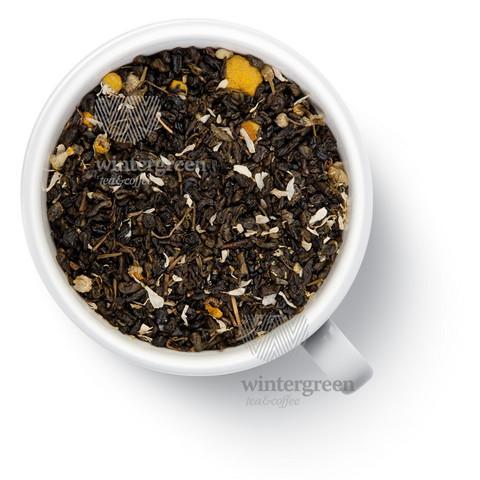 Свежая ромашка Чай Gutenberg зеленый ароматизированный 100 гр.