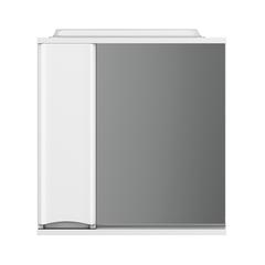 Зеркальный шкаф с подсветкой AM.PM Like M80MPL0651WG 65 см левосторонний белый