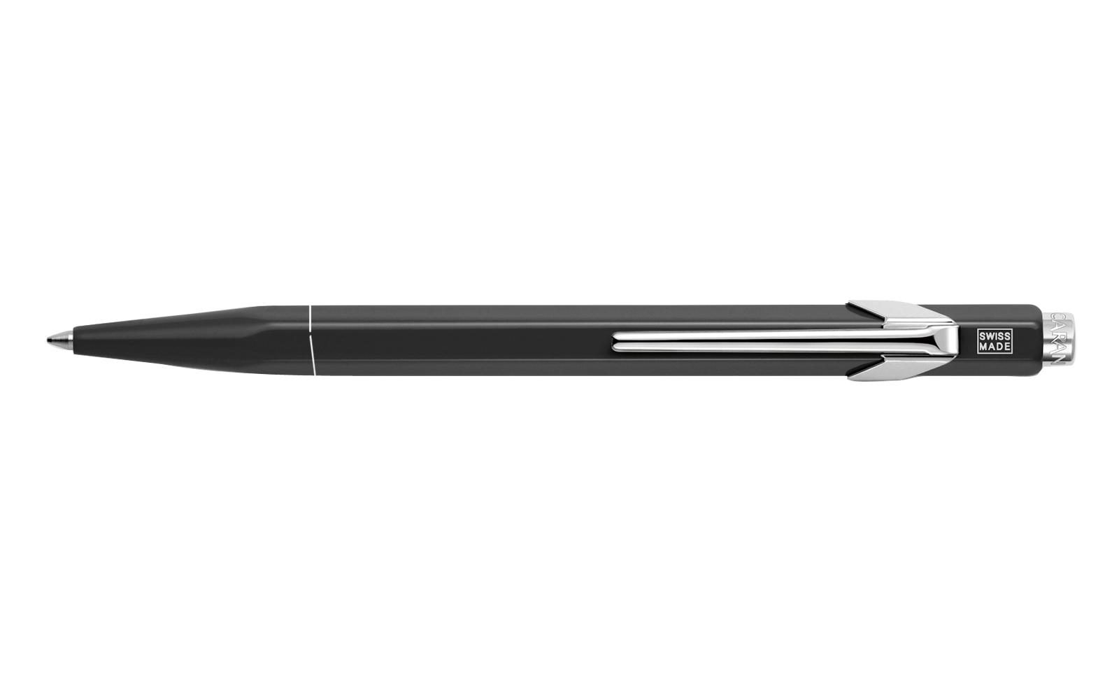Carandache Office 849 Pop Line - Black, шариковая ручка, M