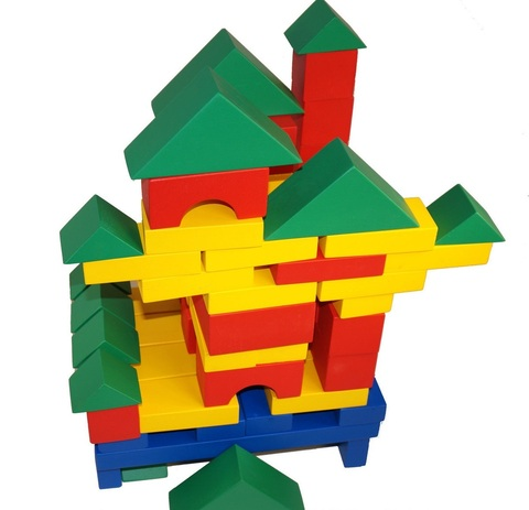 деревянный конструктор строитель