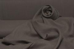 Интерьерная  льняная ткань  цвет ОРЕХ