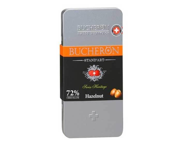 Горький шоколад с фундуком Bucheron