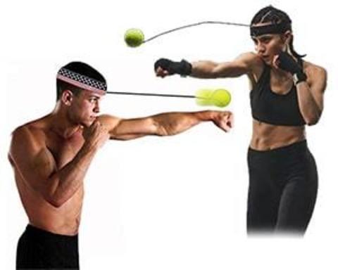 Купити тренажер для боксу - м'ячик на гумці (Fight Ball)