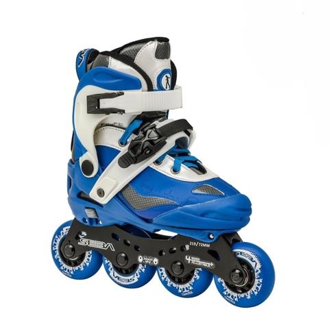 Роликовые коньки SEBA SJ Junior Blue/White