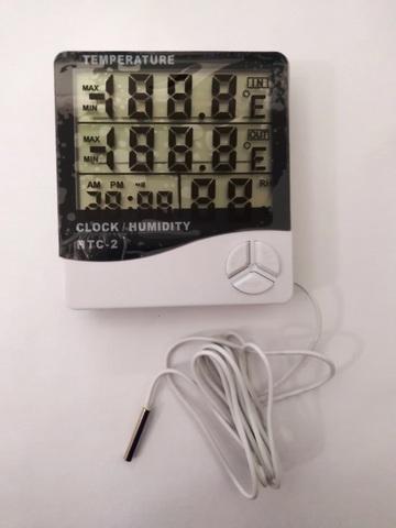 Термометр-гигрометр-часы с дополнительным выносным датчиком