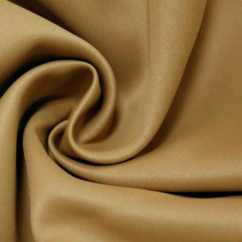 Ткань блэкаут желто коричневый. Арт. GL-817-29