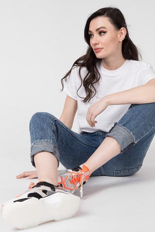 Женские кожаные кроссовки Preppy