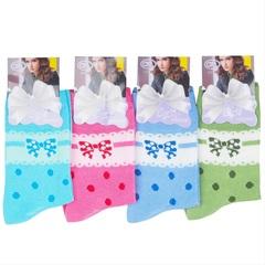 NOB5 носки женские 36-41 (12шт), цветные