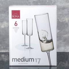 Набор из 6 бокалов для шампанского Rona «Medium», 170 мл, фото 3
