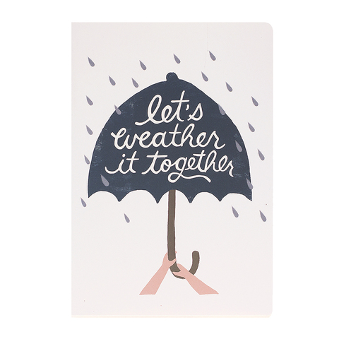 Тетрадь Let's weather it together