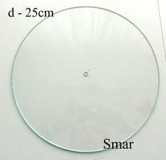 Часы диаметр 25см, стекло