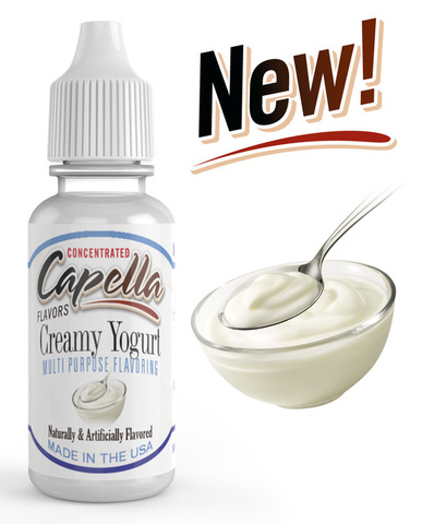 Ароматизатор Capella  Creamy Yogurt