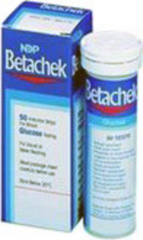 Тест-полоски визуальные БетаЧек (Betachek) глюкоза в крови