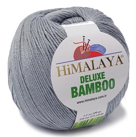 Пряжа Himalaya Deluxe Bamboo 124-26 серый