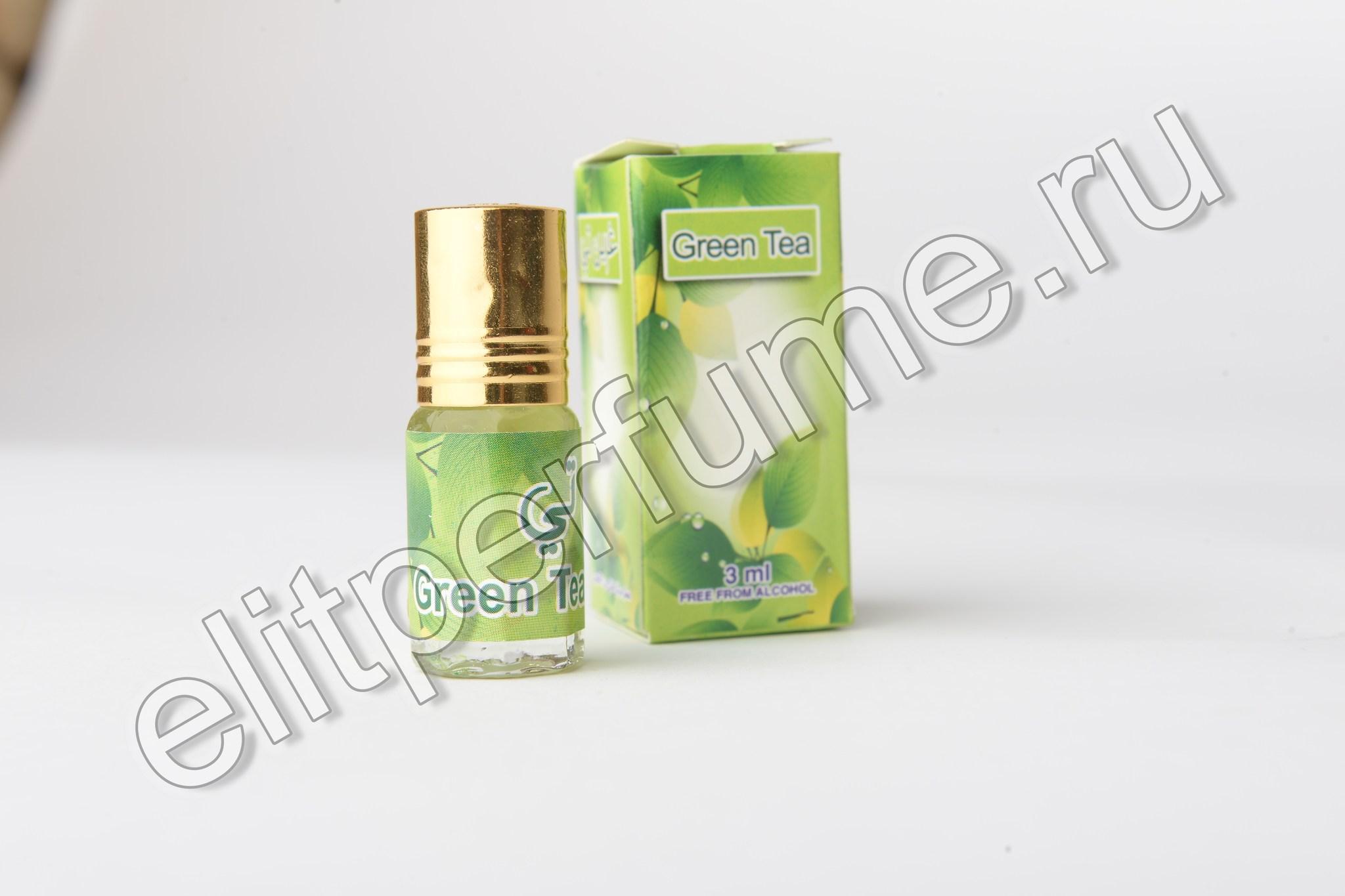 Green Tea  3 мл арабские масляные духи от Захра Zahra Perfumes