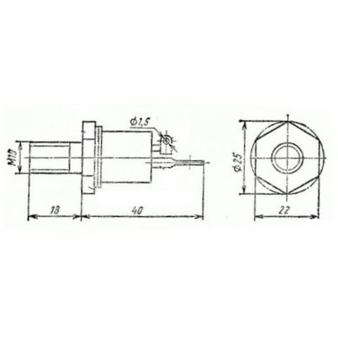 Тиристор Т142