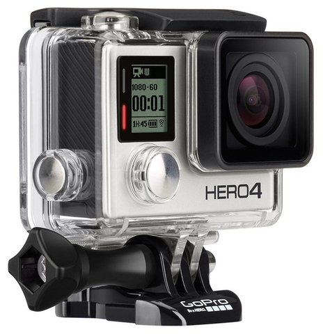 Экшн-камера GoPro HD Hero 4 Silver Edition