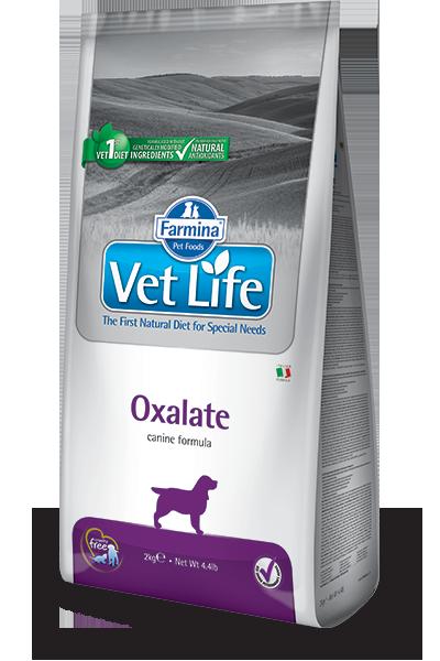 Сухой корм Корм для собак, FARMINA Vet Life OXALATE, при МКБ оксалаты, ураты и цистины farmina-vet-life-canine-oxalate_web.png