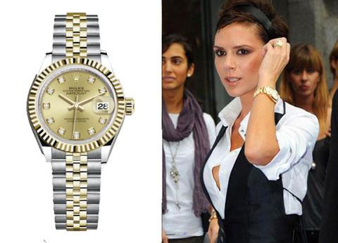 Часы Rolex Date Just (Виктория Бекхэм)