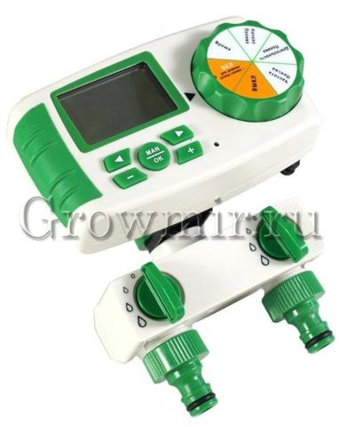 Комплект автоматического полива Green Helper GA-325-2 двухзонный