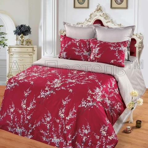 Комплект постельного белья  Гранат Premium