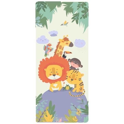 Детский коврик Jungle 152*61*0,3 см из микрофибры и каучука