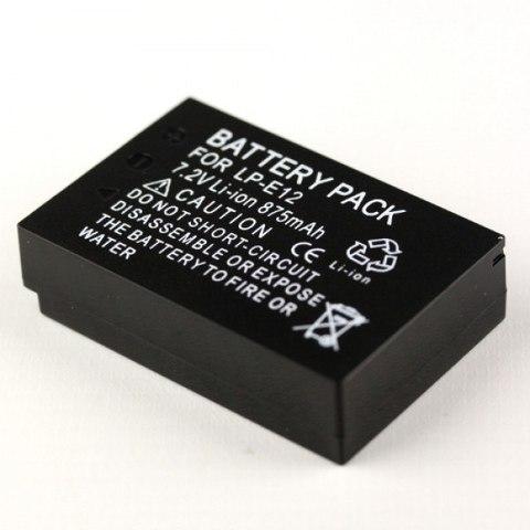 Аккумулятор для Canon LP-E12 для Canon EOS-M  EOS M2  EOS Rebel SL1  EOS 100D