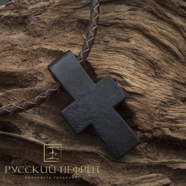Авторские работы Крест из чёрного нефрита Krest_nefrit1.jpg