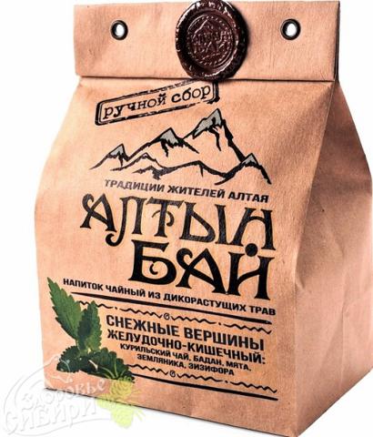 Иван-чай Снежные вершины желудочно-кишечный, АлтынБай 100 г