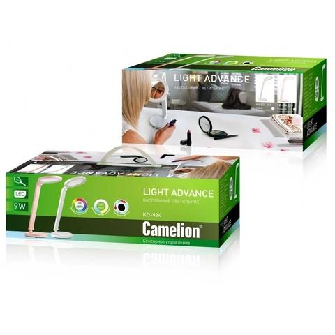 Светодиодная настольная лампа Camelion KD-824C01 белый