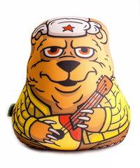 Подушка-игрушка антистресс «Медведь с балалайкой» 1