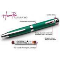 Шприц-ручка ХумаПен Люксура ДТ (Humapen Luxura HD) 3 мл, шаг 0,5 ед.