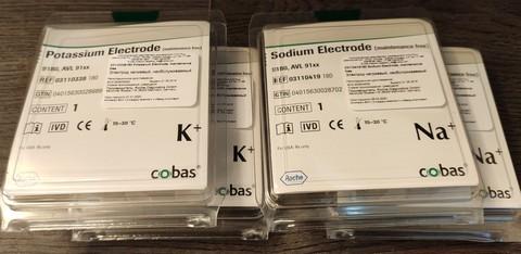 Калиевый микроэлектрод Potassium Electrode AVL РОШ/Германия