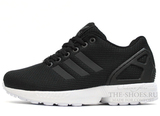 Кроссовки Женские Adidas ZX Flux Black White